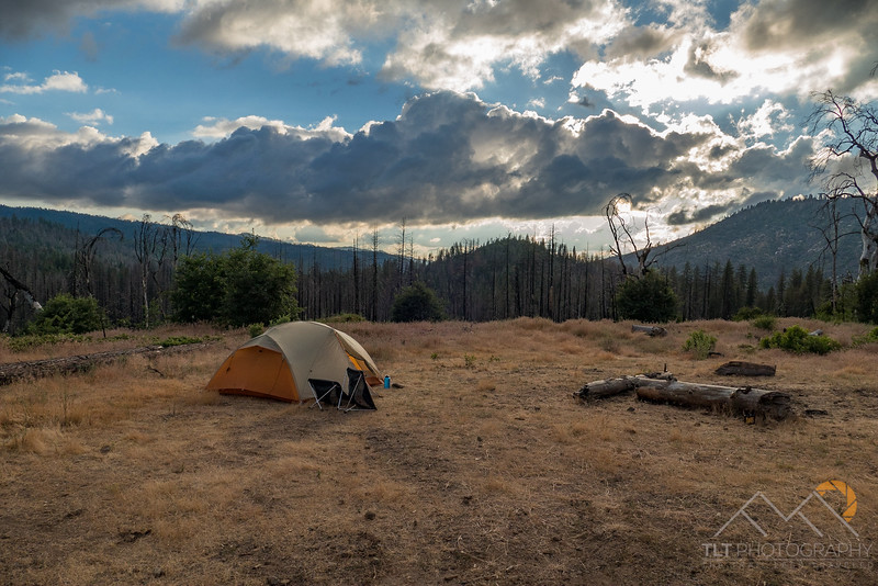 Our campsite in Stanislaus National Forest just outside Yosemite.