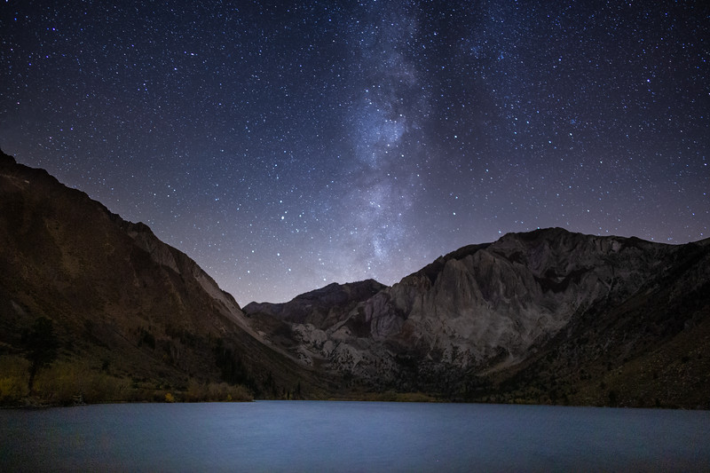 Celestial Bodies Over Convict Lake