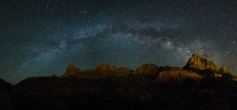 Milky Way Over the Watchman