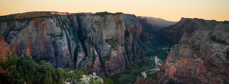 Observation Point Panoramic, Zion