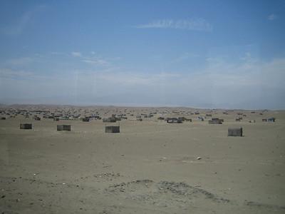 Peru coast near Lima