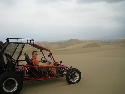 Me in sand buggy, Ica