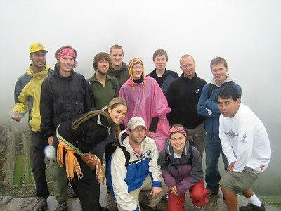 Inca Trail group