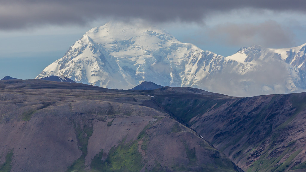 Mount Denali ...from about 175 miles away