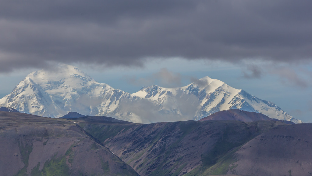 Mount Denali taken from about 175 miles away