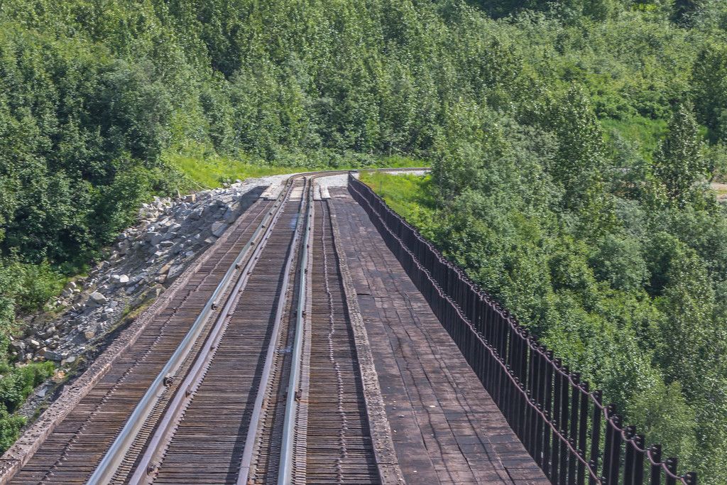 Alaska Railroad bridge