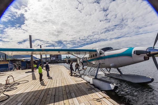 ALASKA - Ketchikan - Float Plane/Boat Ride