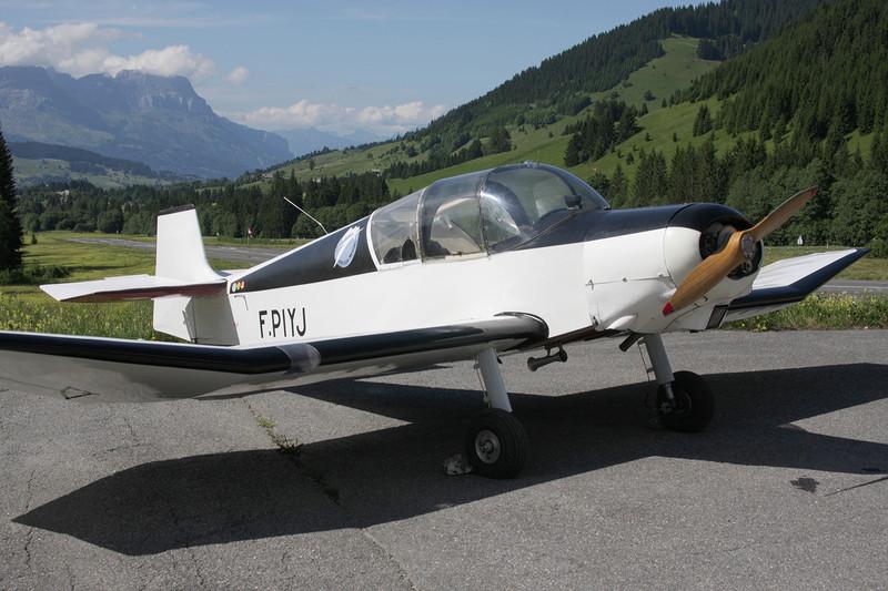 F-PIYJ Jodel D.119 c/n 864 Megeve/LFHM/MVV 04-07-08