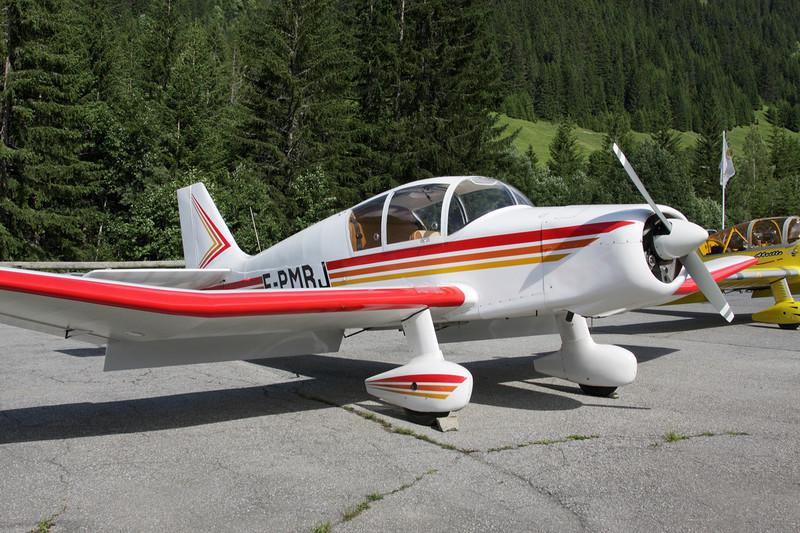 F-PMRJ Jodel D.140E Mousquetaire c/n 430 Megeve/LFHM/MVV 04-07-08