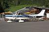 N681EW Reims-Cessna F.182Q Skylane c/n 0039 Megeve/LFHM/MVV 04-07-08