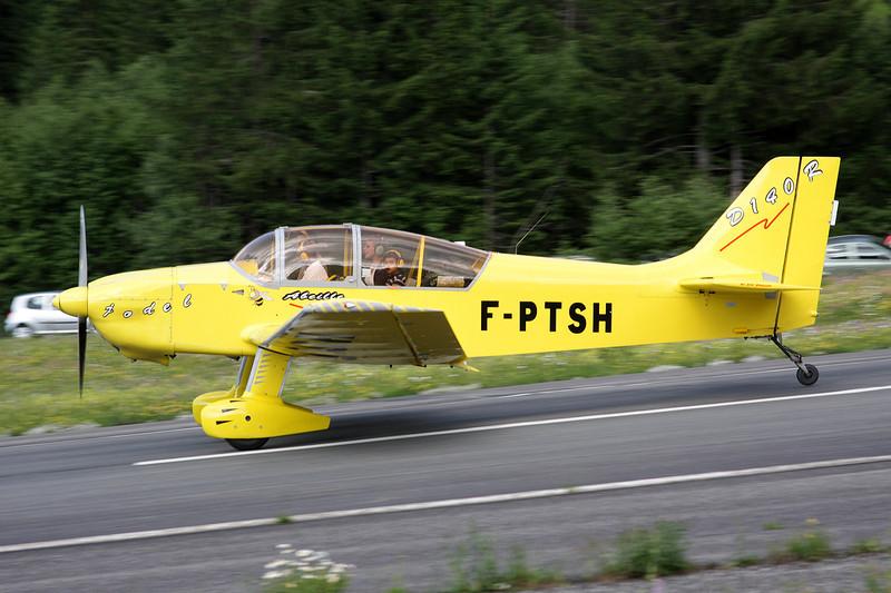 F-PTSH Jodel D.140R Abeille c/n 434 Megeve/LFHM/MVV 04-07-08