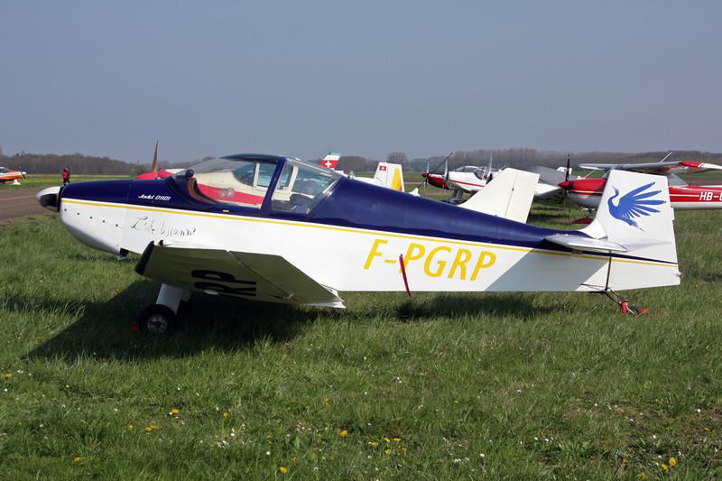 F-PGRP Jodel DB.1101 c/n 01 Beaune/LFGF/XBV 17-04-10