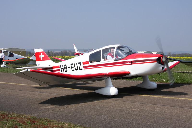 HB-EUZ Centre-Est DR.250-160 Capitaine c/n 70 Beaune/LFGF/XBV 17-04-10