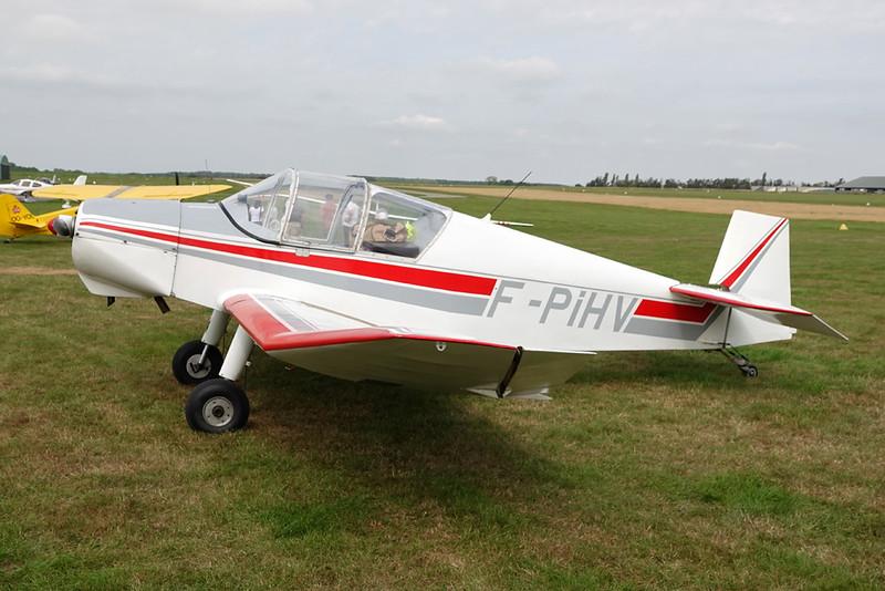 F-PIHV Jodel D.112 c/n 619 Abbeville/LFOI 31-08-19
