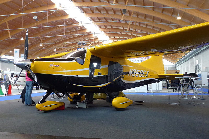 N350EX Found FBA-2 C3 Expedition E350 c/n 303 Friedrichshafen/EDNY/FDH 20-04-12