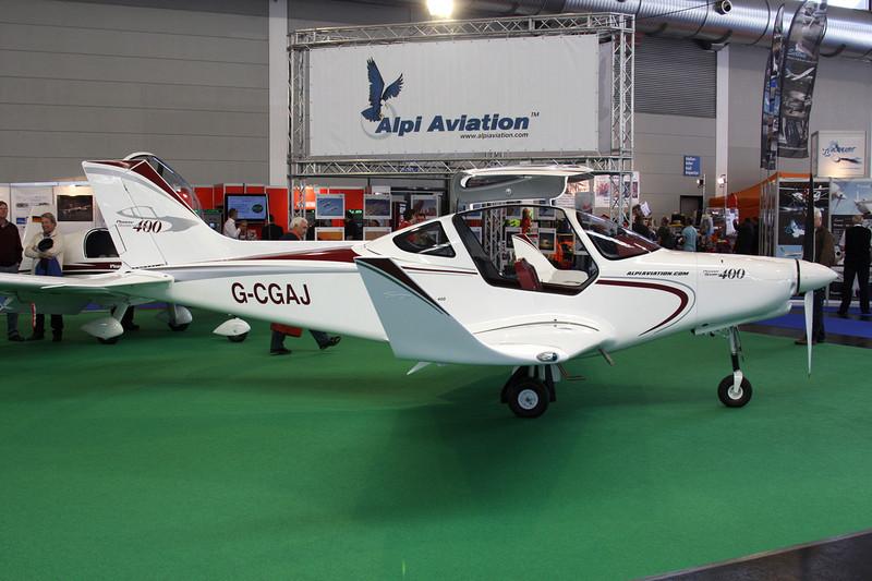 G-CGAJ Alpi Aviation Pioneer 400 c/n 01 Friedrichshafen/EDNY/FDH 19-04-12