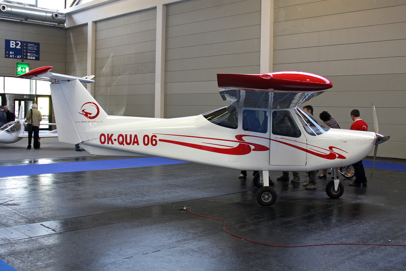 OK-QUA 06 Aeroservice Panda c/n 1 Friedrichshafen/EDNY/FDH 19-04-12