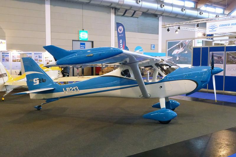 I-B213 B&F Technik Funk FK.9 ELA TG c/n 456 Friedrichshafen/EDNY/FDH 20-04-12