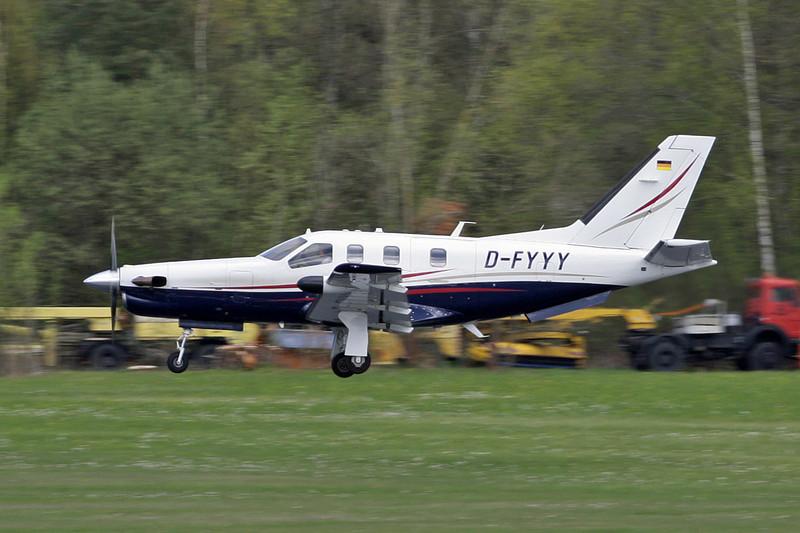 D-FYYY Socata TBM-700C2 c/n 314 Friedrichshafen/EDNY/FDH 20-04-12