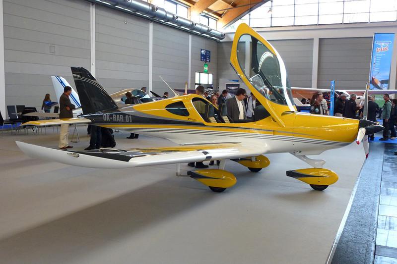 OK-RAR 01 BRM Aero NG-5 Bristell ELSA c/n 025/2012 Friedrichshafen/EDNY/FDH 19-04-12