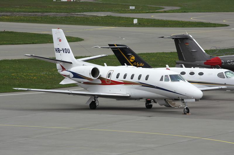 HB-VOU Cessna 560 Citation Excel c/n 560-5070 Friedrichshafen/EDNY/FDH 20-04-12