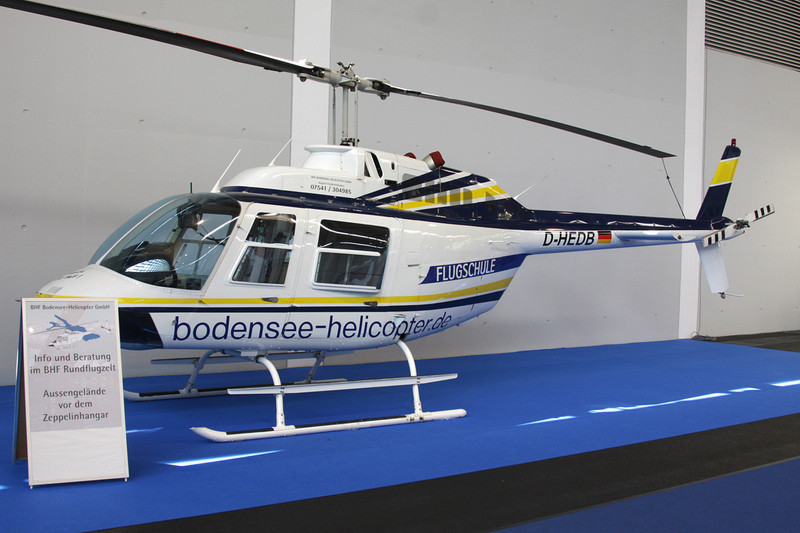 D-HEDB Bell Helicopters 206B-3 JetRanger III c/n 4197 Friedrichshafen/EDNY/FDH 19-04-12