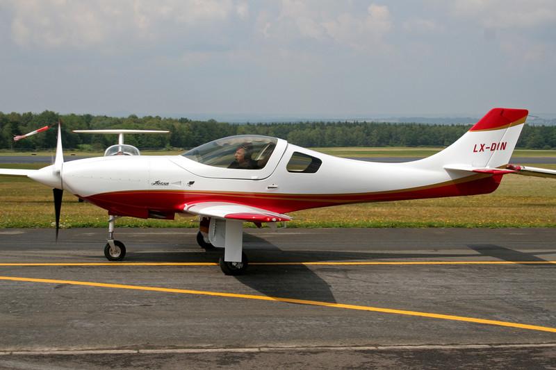 LX-DIN Neico Lancair Legacy 2000 c/n L2K-137 Spa-La Sauveniere/EBSP 05-08-06