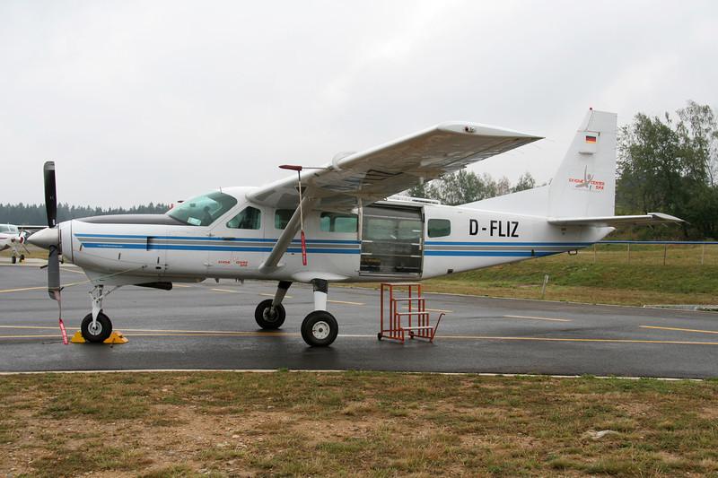 D-FLIZ Cessna 208 Caravan c/n 208-00241 Spa-La Sauveniere/EBSP 05-08-06