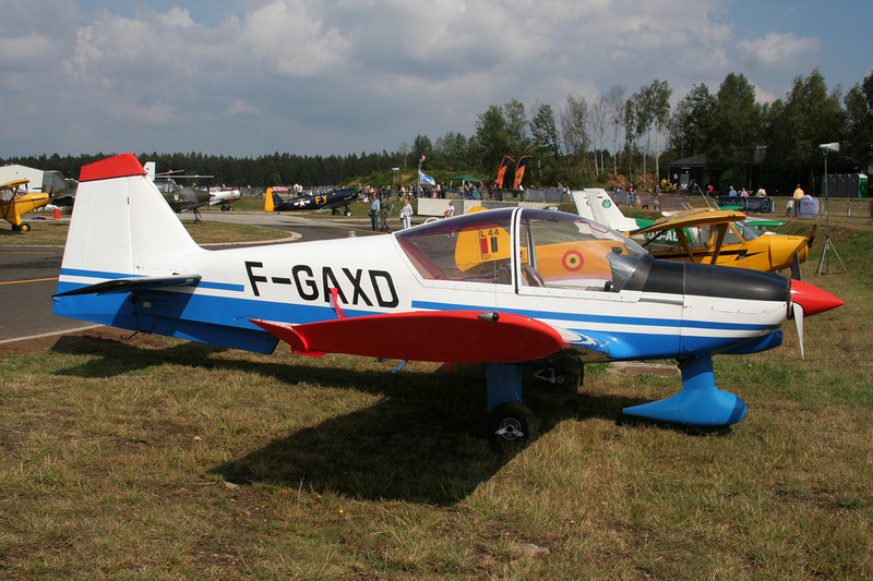 F-GAXD Robin R.2160 Alpha Sport c/n 142 Spa-La Sauveniere/EBSP 05-08-06