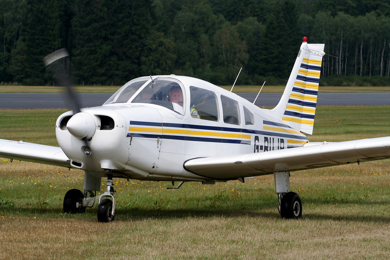G-BUJP Piper PA-28-161 Warrior II c/n 28-7916047 Spa-La Sauveniere/EBSP 05-08-06