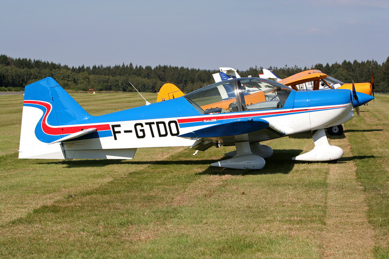 F-GTDO Robin R.2160 Alpha Sport c/n 310 Spa-La Sauveniere/EBSP 04-08-07