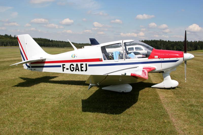 F-GAEJ Robin DR.400-180 Regent c/n 1156 Spa-La Sauveniere/EBSP 03-08-07