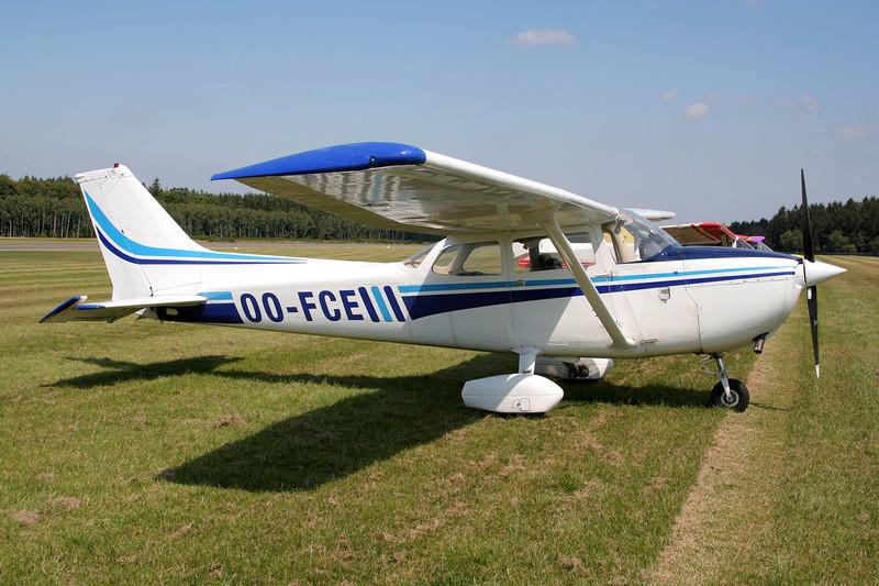 OO-FCE Reims-Cessna F.172M c/n 1470 Spa-La Sauveniere/EBSP 04-08-07