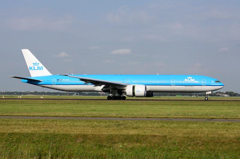 PH-BVK Boeing 777-306ER c/n 42172 Amsterdam/EHAM/AMS 21-06-14