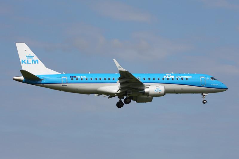 PH-EXD Embraer Emb-190 100LR c/n 19000661 Amsterdam/EHAM/AMS 21-06-14