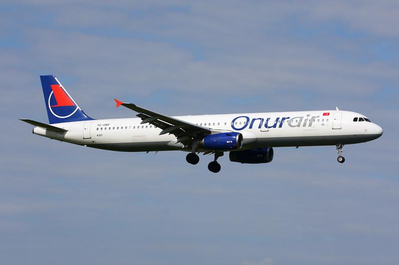 TC-OBF Airbus A321-231 c/n 0963 Amsterdam/EHAM/AMS 21-06-14