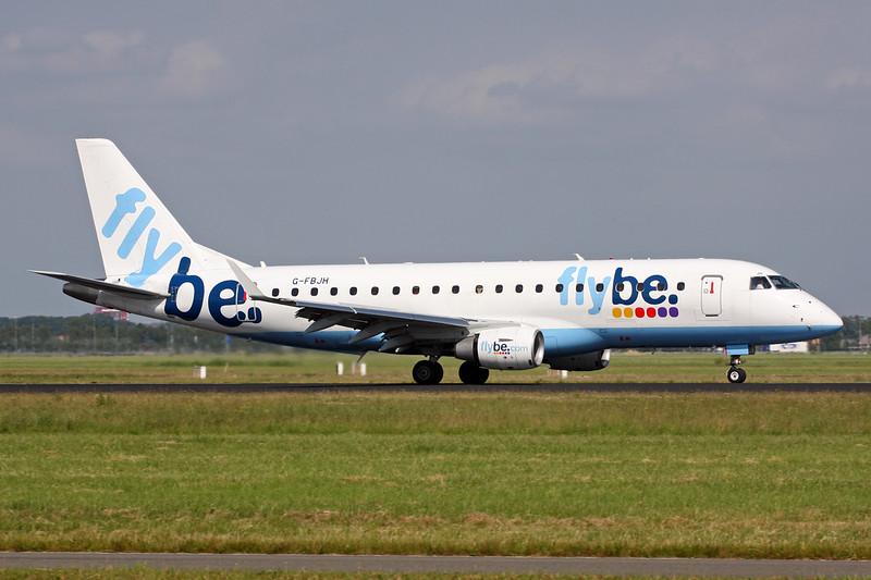 G-FBJH Embraer Emb-175-200LR c/n 17000351 Amsterdam/EHAM/AMS 21-06-14
