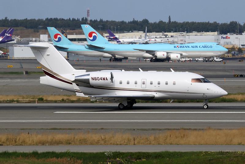 N604WA Bombardier 604 Challenger c/n 5594 Anchorage-International/PANC/ANC 10-08-19
