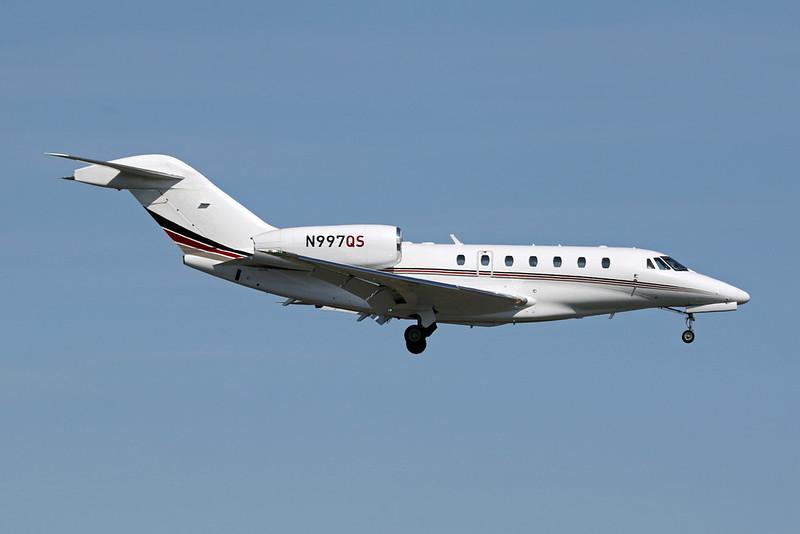 N997QS Cessna 750 Citation X c/n 750-0208 Anchorage-International/PANC/ANC 07-08-19