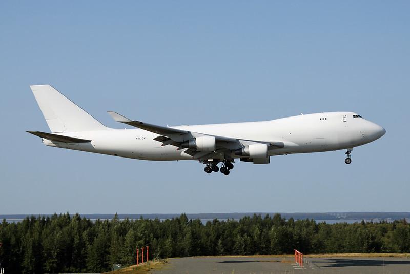 """N713CK Boeing 747-4B5F """"Kalitta Air"""" c/n 32808 Anchorage-International/PANC/ANC 09-08-19"""