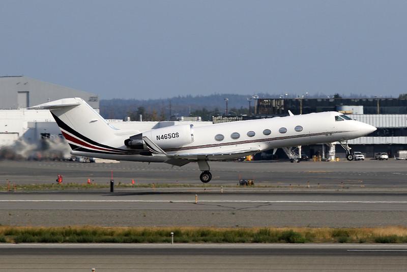 N465QS Gulfstream G4SP c/n 1463 Anchorage-International/PANC/ANC 10-08-19