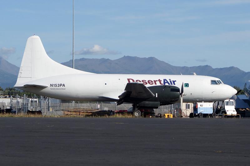 """N153PA Convair 240VT-29B """"Desert Air Transport"""" c/n 304 Anchorage-International/PANC/ANC 06-08-19"""