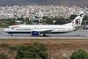"G-DOCM Boeing 737-436 c/n 25843 Athens-Hellenikon/LGAT/ATH 20-09-00 ""Hong Kong"" (35mm slide)"