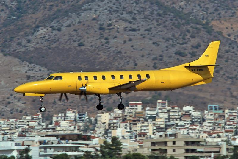 "SX-BMM Swearingen SA.227BC Metro III ""KAL Aviation"" c/n BC-774B Athens-Hellenikon/LGAT/ATH 20-09-00 (35mm slide)"