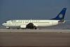 "SX-BMB Boeing 737-46J ""Macedonian Airways"" c/n 27213 Athens-Hellenikon/LGAT/ATH 25-09-00 (35mm slide)"