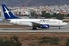 """SX-BLT Boeing 737-7K9 """"Axon Airlines"""" c/n 28090 Athens-Hellenikon/LGAT/ATH 19-09-00 (35mm slide)"""