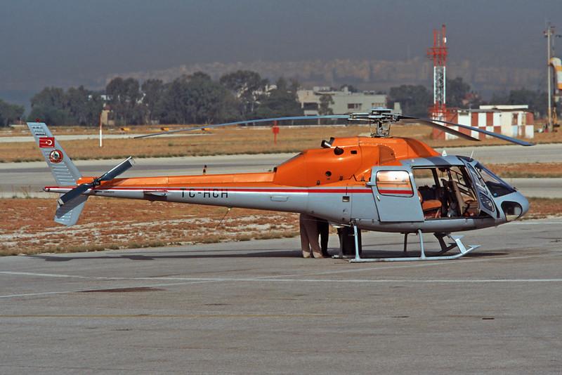 TC-HCH Aerospatiale AS.555F2 Ecureuil II c/n 5369 Athens-Hellenikon/LGAT/ATH 22-09-00 (35mm slide)
