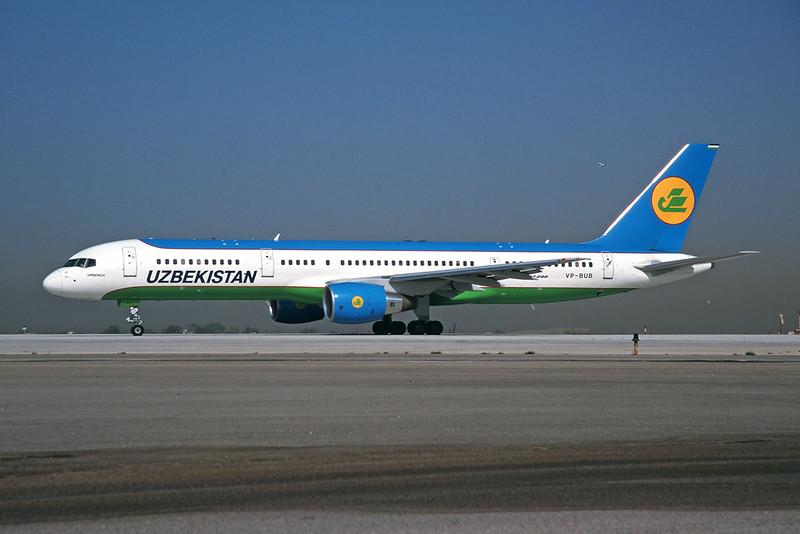 VP-BUB Boeing 757-23P c/n 30060 Athens-Hellenikon/LGAT/ATH 21-09-00 (35mm slide)