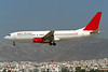 "G-LFJB Boeing 737-81Q ""Sabre Airways"" c/n 29051 Athens-Hellenikon/LGAT/ATH 21-09-00 (35mm slide)"