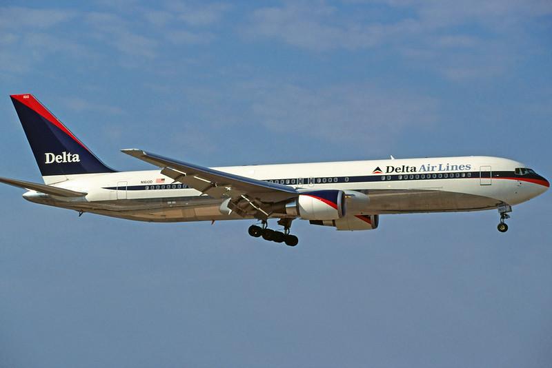 N1610D Boeing 767-332ER c/n 30594 Athens-Hellenikon/LGAT/ATH 24-09-00 (35mm slide_)